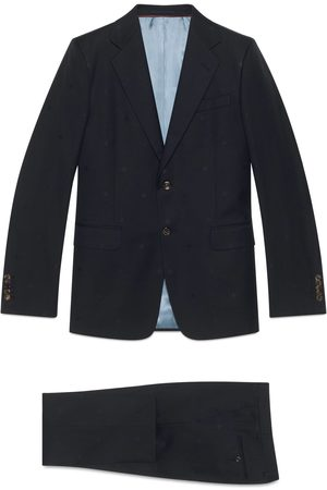 Gucci London bee wool gabardine suit