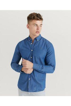 Morris Skjorte Julian Button Down Denim Shirt