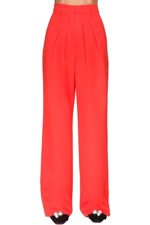 Rochas Pleated Cool Wool Pants