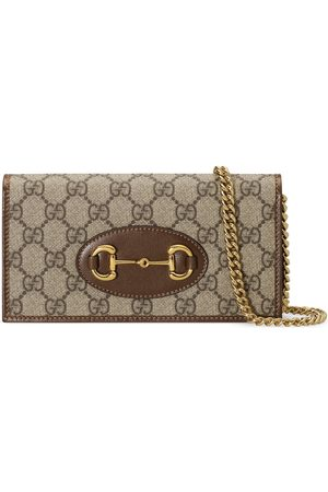 Gucci Horsebit 1955 wallet with chain