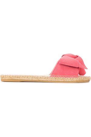 Sandaler, grovt heklet