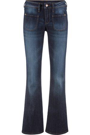 Bonprix Dame Bootcut - Komfort-Stretch-Jeans, Bootcut