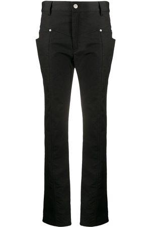 Isabel Marant Lorrick yoke-detail slim-fit trousers