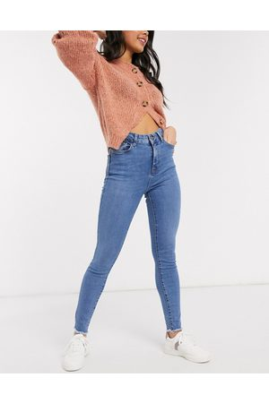 New Look Shape and lift skinny jean in mid blue
