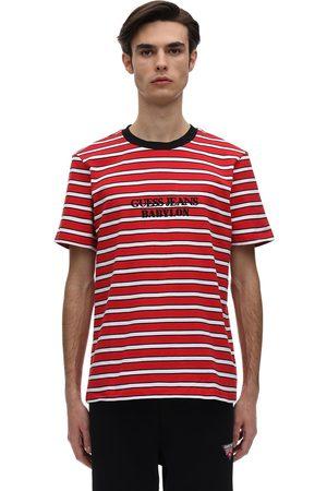 Guess Babylon Logo Cotton Jersey T-shirt