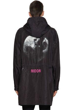 VALENTINO Moon Dust Nylon Caban Parka