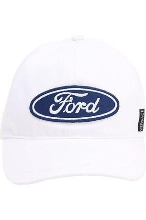 VERSACE Herre Hatter - Embroidered Ford Logo Baseball Hat