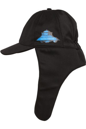 VALENTINO Vu Ufo Printed Virgin Wool Aviator Hat
