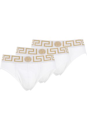VERSACE Pack Of 3 Stretch Cotton Briefs