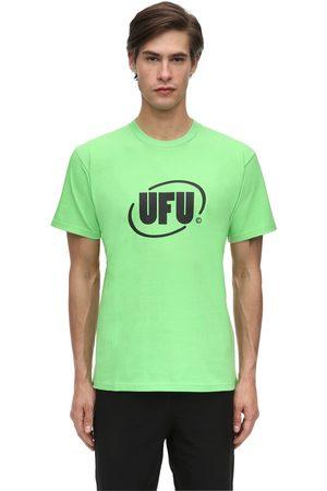 UFU - USED FUTURE Round Logo Cotton Jersey T-shirt