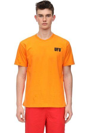 UFU - USED FUTURE Ufu Ad Cotton Jersey T-shirt