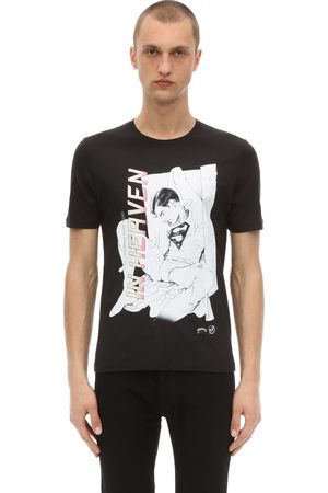 Passarella Death Squad In Heaven Printed Cotton Blend T-shirt