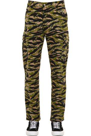 Oakley Tnp Camo Print Cotton Blend Cargo Pants