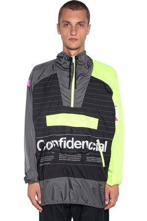 MARCELO BURLON Printed Tech Windbreaker