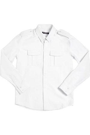 Balmain Oxford Cotton Shirt