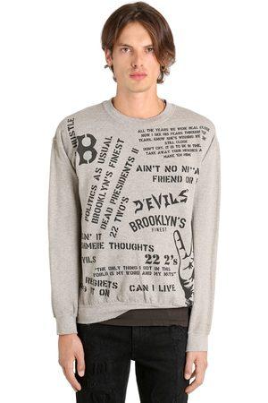 MADEWORN X JAY Z 22 2's Jay Z Printed Cotton Sweatshirt