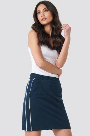 NA-KD Piping Detail Mini Skirt