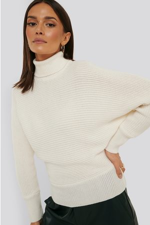 NA-KD Dame Pologensere - Folded Knitted Sweater