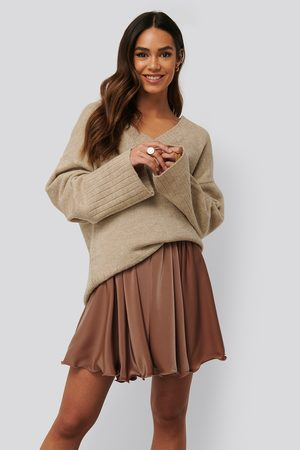 Anika Teller x NA-KD Dame Miniskjørt - Circle Mini Skirt