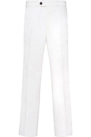 Prada Herre Straight - Cropped straight-leg jeans