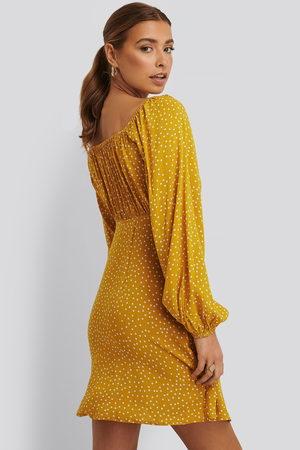 NA-KD Dame Korte kjoler - Dotted Mini Dress
