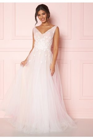 Zetterberg Couture Stella Dress Ivory/Nude 36