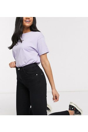 Wednesday's Girl High waist skinny jeans in black wash