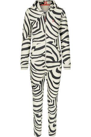 Onepiece Onesies - Zebra Slim Jumpsuit Off-white