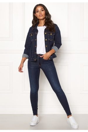 Happy Holly Skyler denim jacket Dark denim 36