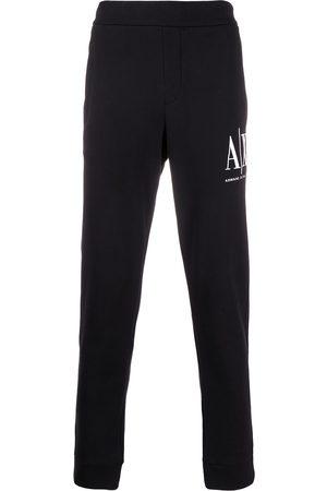 Armani Exchange Herre Joggebukser - Logo embroidered track pants