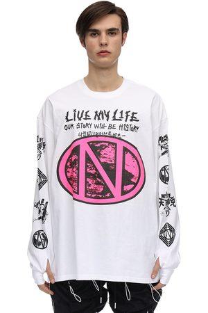 99PERCENTIS Live My Life Cotton T-shirt
