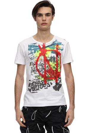 99PERCENTIS Seditionaries Print Cotton T-shirt