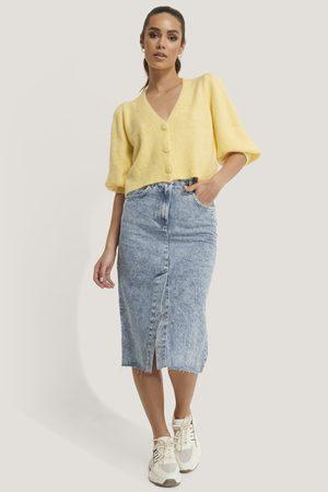 MANGO Dame Denimskjørt - Edited Skirt