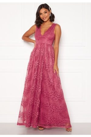 Moments New York Ella Lace Gown Raspberry red 36