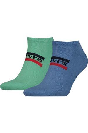 Levis Levis 2-pakning Sportswear Logo Low Cut Sock * Fri Frakt *