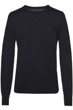 All size Mode logo embroidered sweater