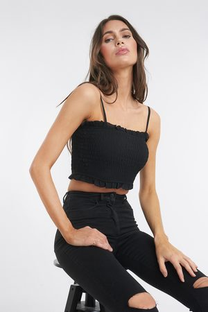 XLE the Label Heather Smock Top