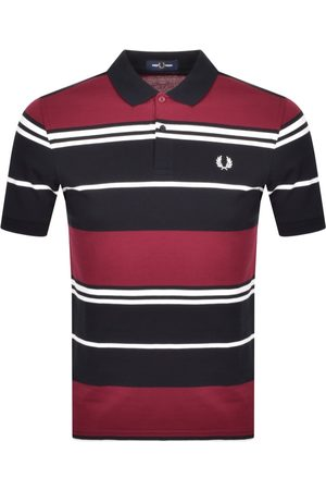 Fred Perry Striped Polo T Shirt