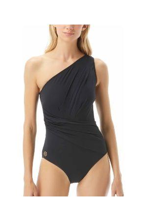 Michael Kors Solids One Shoulder Swimsuit * Fri Frakt