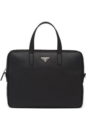 Prada Herre Porteføljer - Saffiano leather briefcase