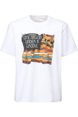 SACAI Funkadelic Print Cotton Jersey T-shirt