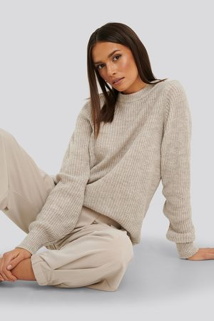 NA-KD Crew Neck Knitted Sweater