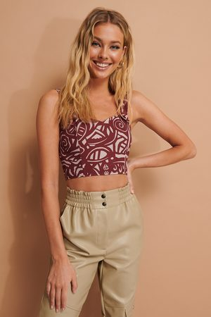 NA-KD Bustier Cropped Top