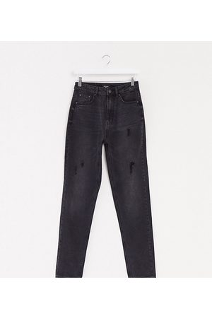 Vero Moda Mom jeans with high waist in black