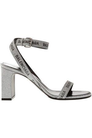 Balenciaga Heeled sandals with logo