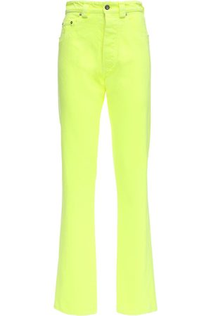 Kwaidan Editions Dame High waist - High Waist Neon Cotton Denim Jeans