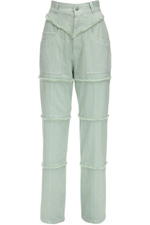 AMBUSH Dame High waist - High Waist Denim Pants