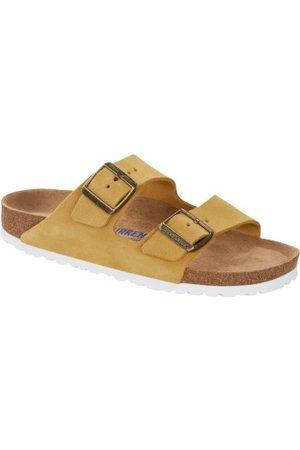 Birkenstock Dame Sandaler - Arizona Suede Soft Footbed