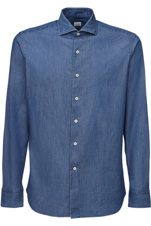 ALESSANDRO GHERARDI Cotton Denim Shirt