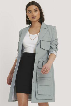 NA-KD Straight Mini Skirt